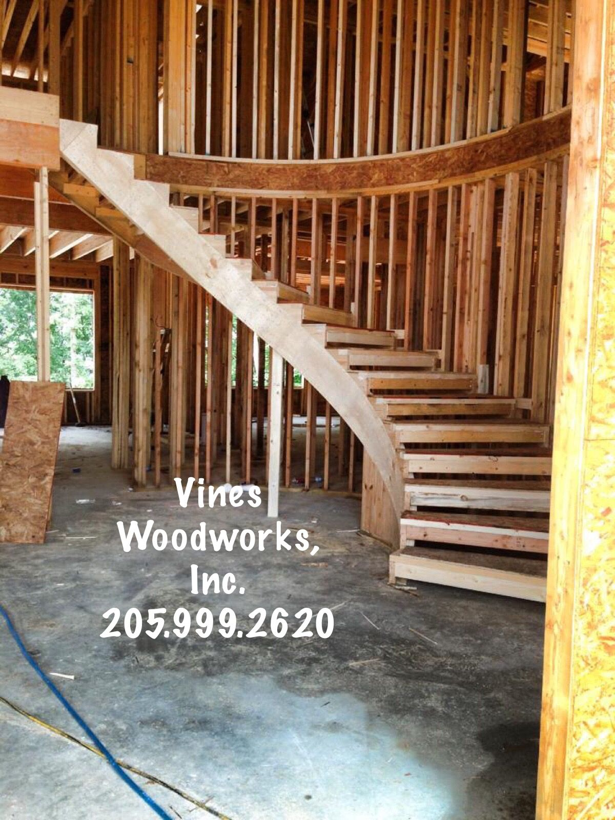 Vines Woodworks, Inc. Is A Turn Key Custom Stair Builder. We Specialize