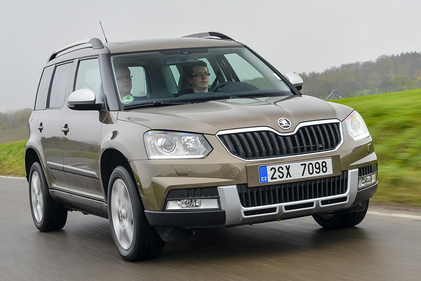 2018 Skoda Yeti To Become More Conventional Suv Autocar For 2019