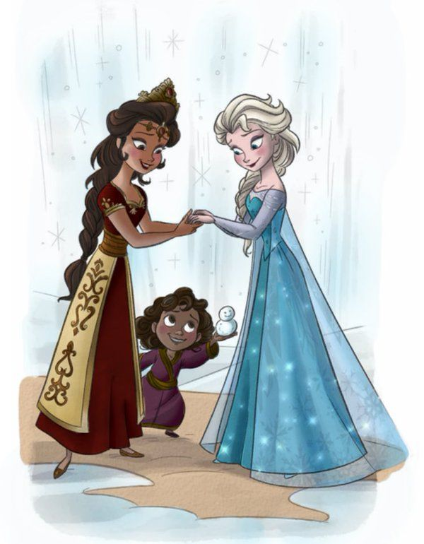 The record-breaking and critically acclaimed 2013 animated film tells of Princess Elsa's struggle to master her magical powers to reconnect with her sister Anna. Description from theguardian.com. I searched for this on bing.com/images