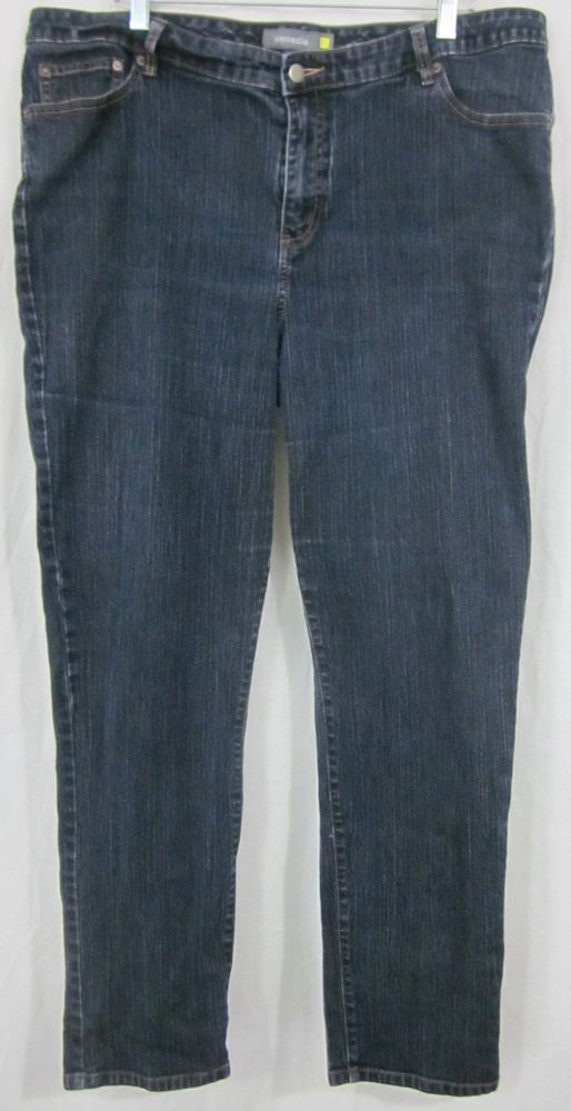 Venezia Jeans Size 6 Avg 40x30 1/2 Relaxed Fit Free Shipping #Venezia #Relaxed
