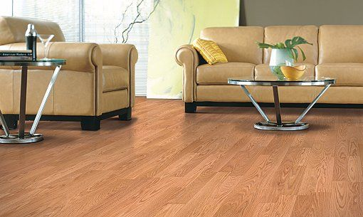 Mohawk Uniclic Laminate Flooringlor Is Honey Oak And 8mm