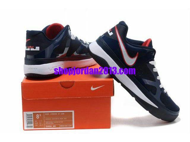 Nike  LeBron 8  Low Shoes Blue Black White Lebron James Shoes  great ... cb0f5e385