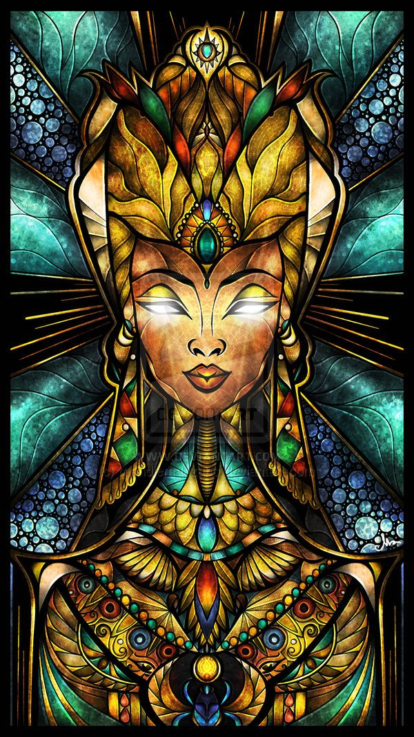 Nefertiti, by Mandie Manzano.