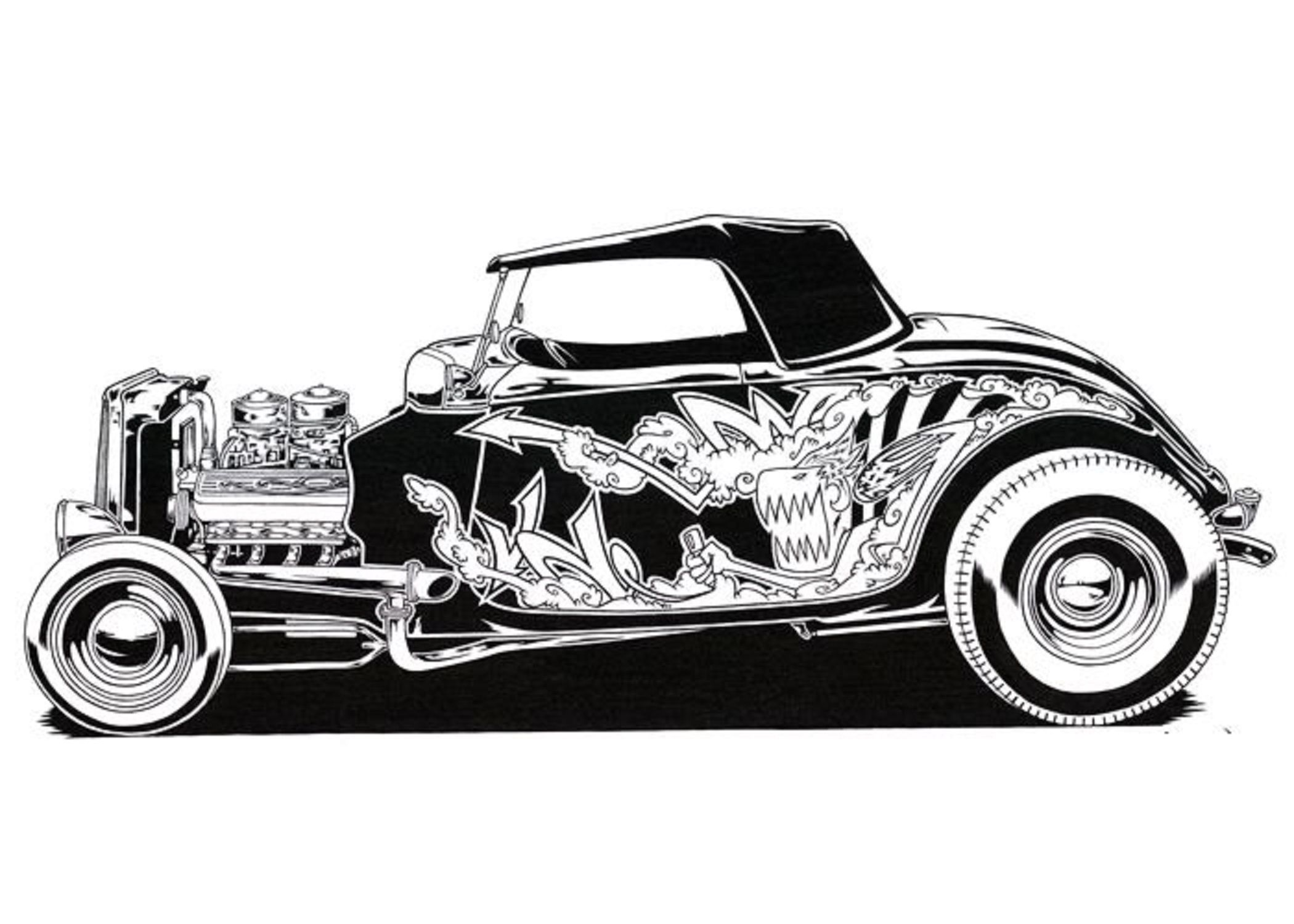Pin by kerry sr on cartruck bw illustrations pinterest