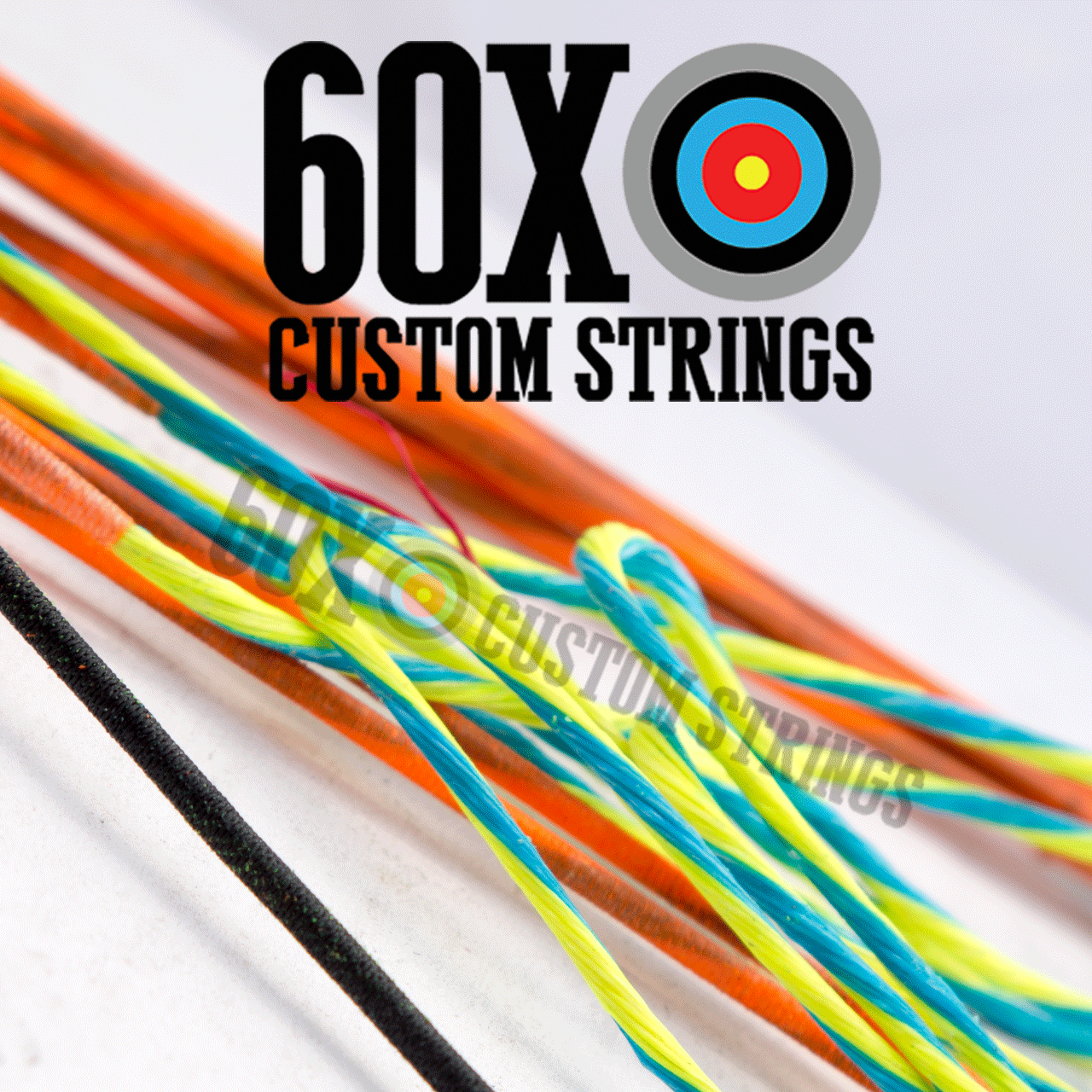 BCY-X Custom Compound Bow Strings & Cable Package - 60X Custom Strings