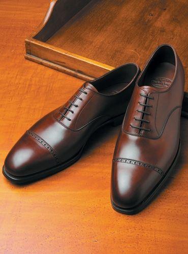 Crockett \u0026 Jones cap toe Oxfords for
