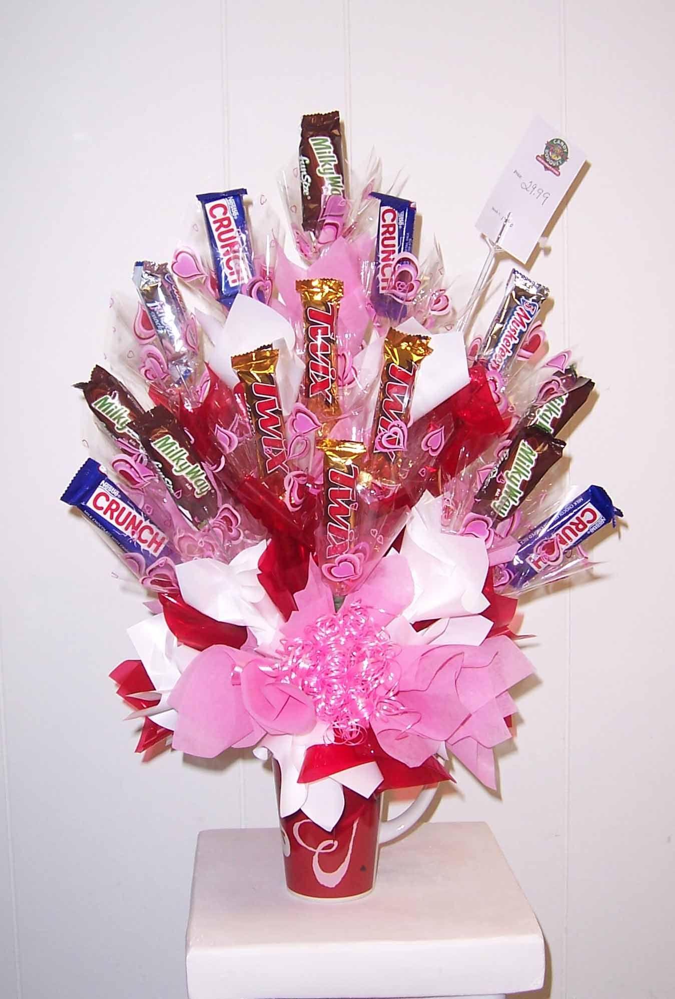 Valentine Candy Bouquet 2017 Happy Valentines 10848style