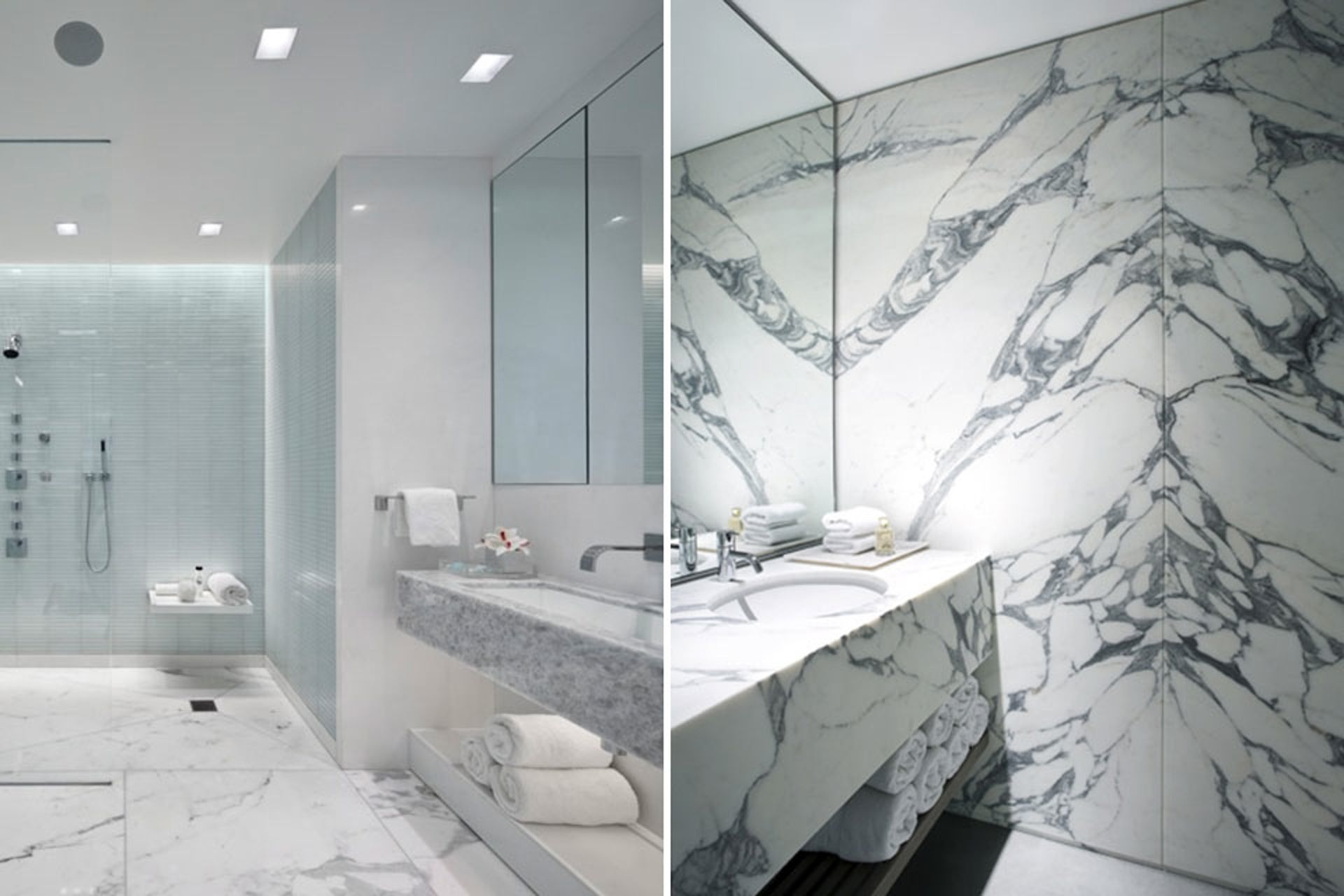 15 Luxurious Marble Bathroom Designs | Bathroom designs, Marbles and ...