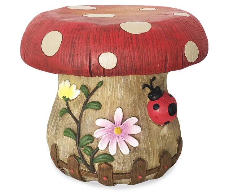 Mushroom Garden Stool At Lots