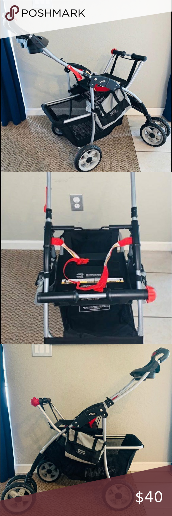 Jeep universal cruiser car seat carrier stroller in 2020