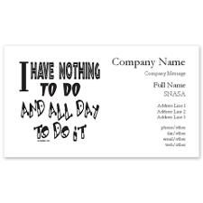 Retiredretirement Business Cards Life Is A Funny Business