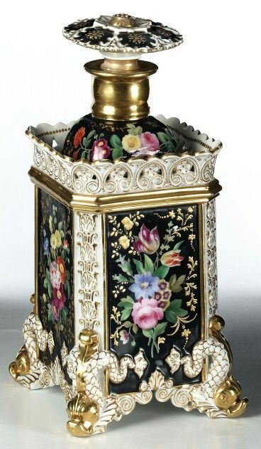 Jacob Petit perfume bottle 1830