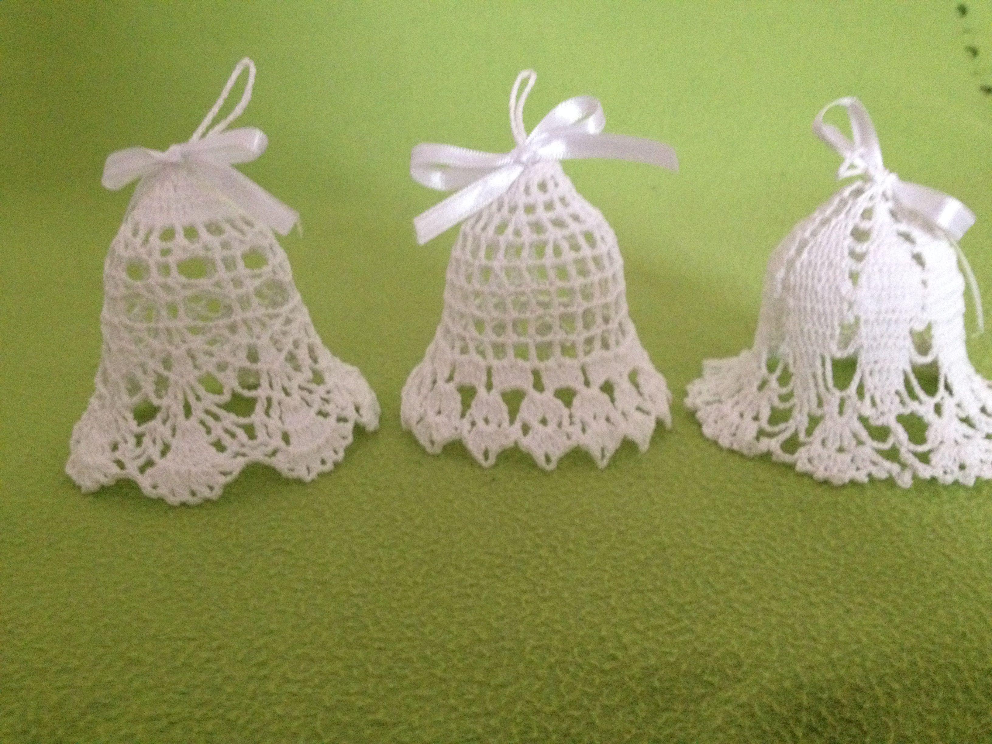 Pin by kůsová on Z Háčkované zvonky - crochet bells | Pinterest ...