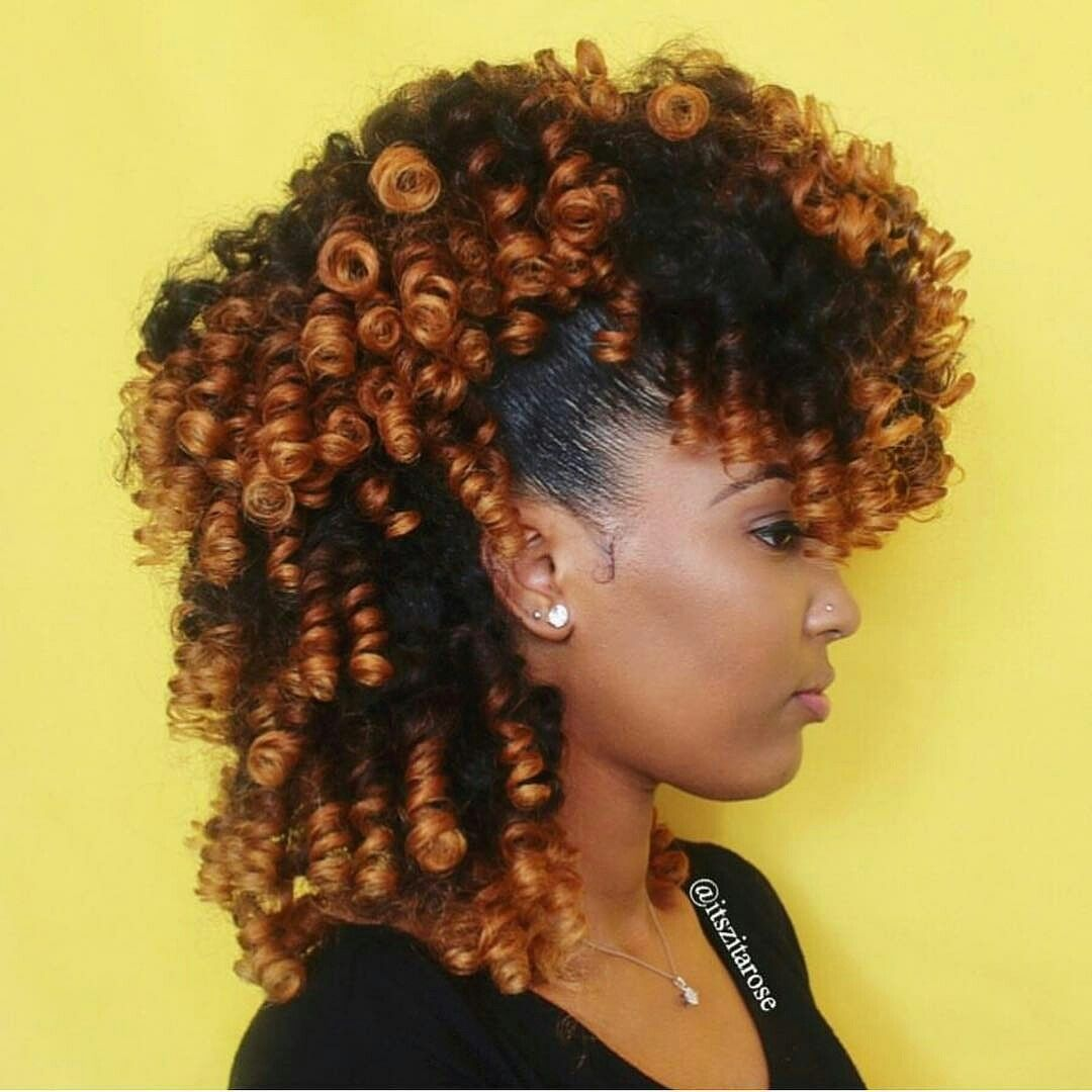 Cute and curly rollerset natural hair pinterest curly relaxer