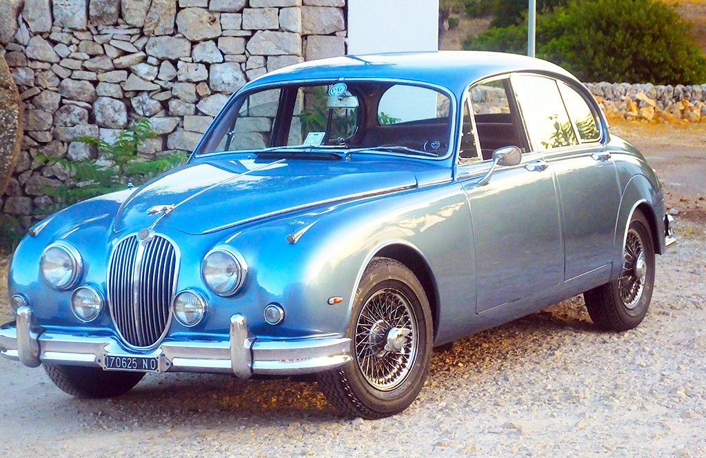 23 – Jaguar MK II (1964) | Wedding vintage cars | Pinterest ...