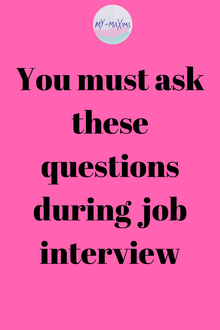 What questions to ask at a job interview - Job interview, Job interview tips, Job interview preparation, Interview advice, Job interview questions, Interview preparation - Job interviews are two ways conversation  You must ask questions about your future manager, the job, the team, culture and the potential of the role