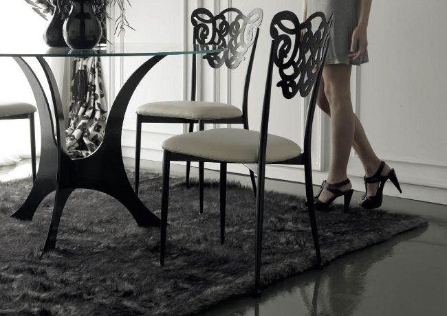silla de forja para hosteleria modelo milos www On sillas comedor metalicas