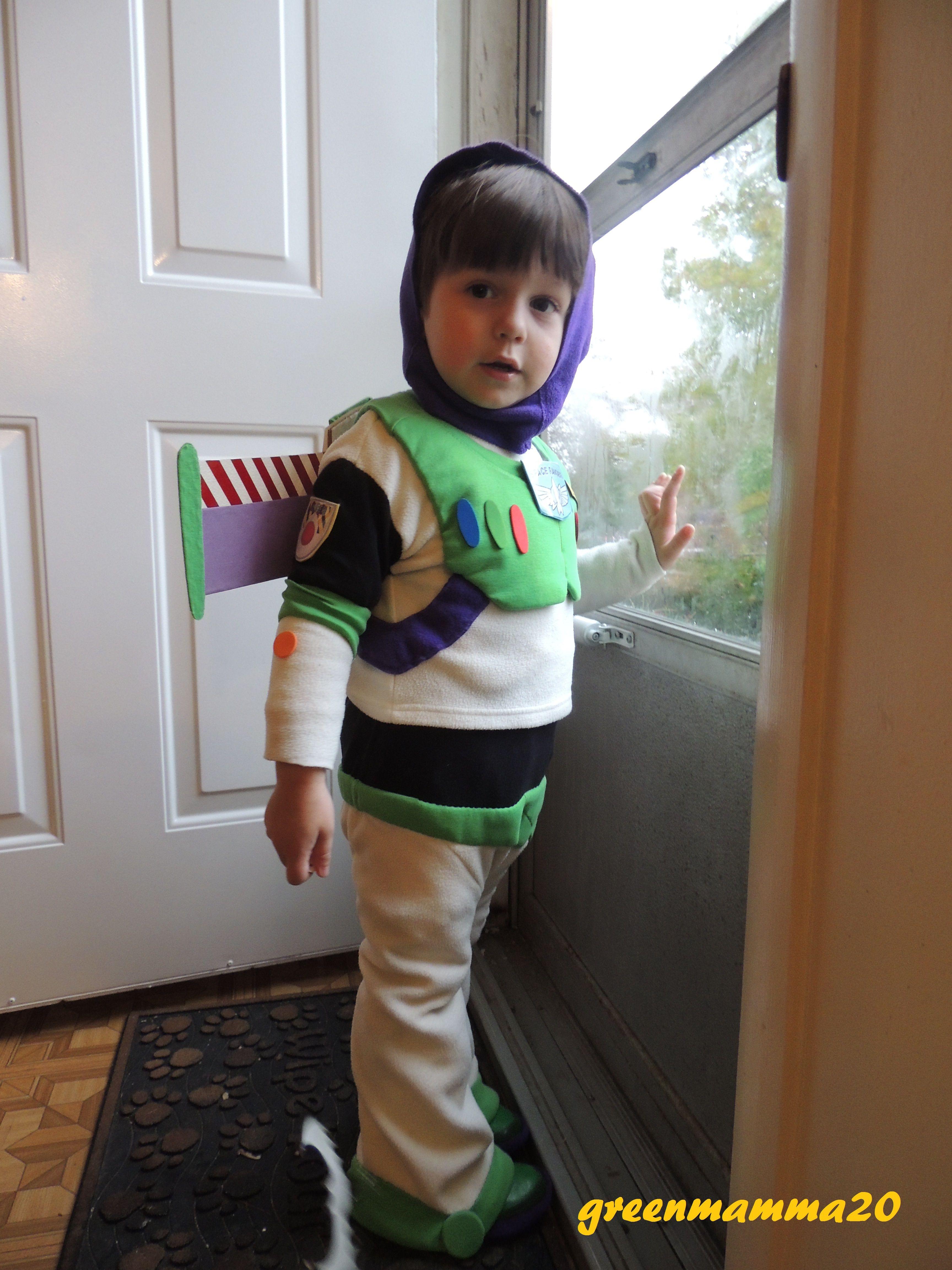 a91751700b421 DIY Buzz Lightyear Toddler Halloween Costume | Halloween Costumes ...
