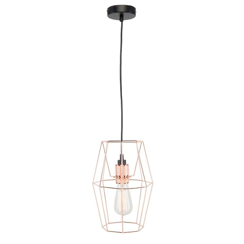 Brilliant Lighting MICA Wire Cage Shade Copper 18951/18