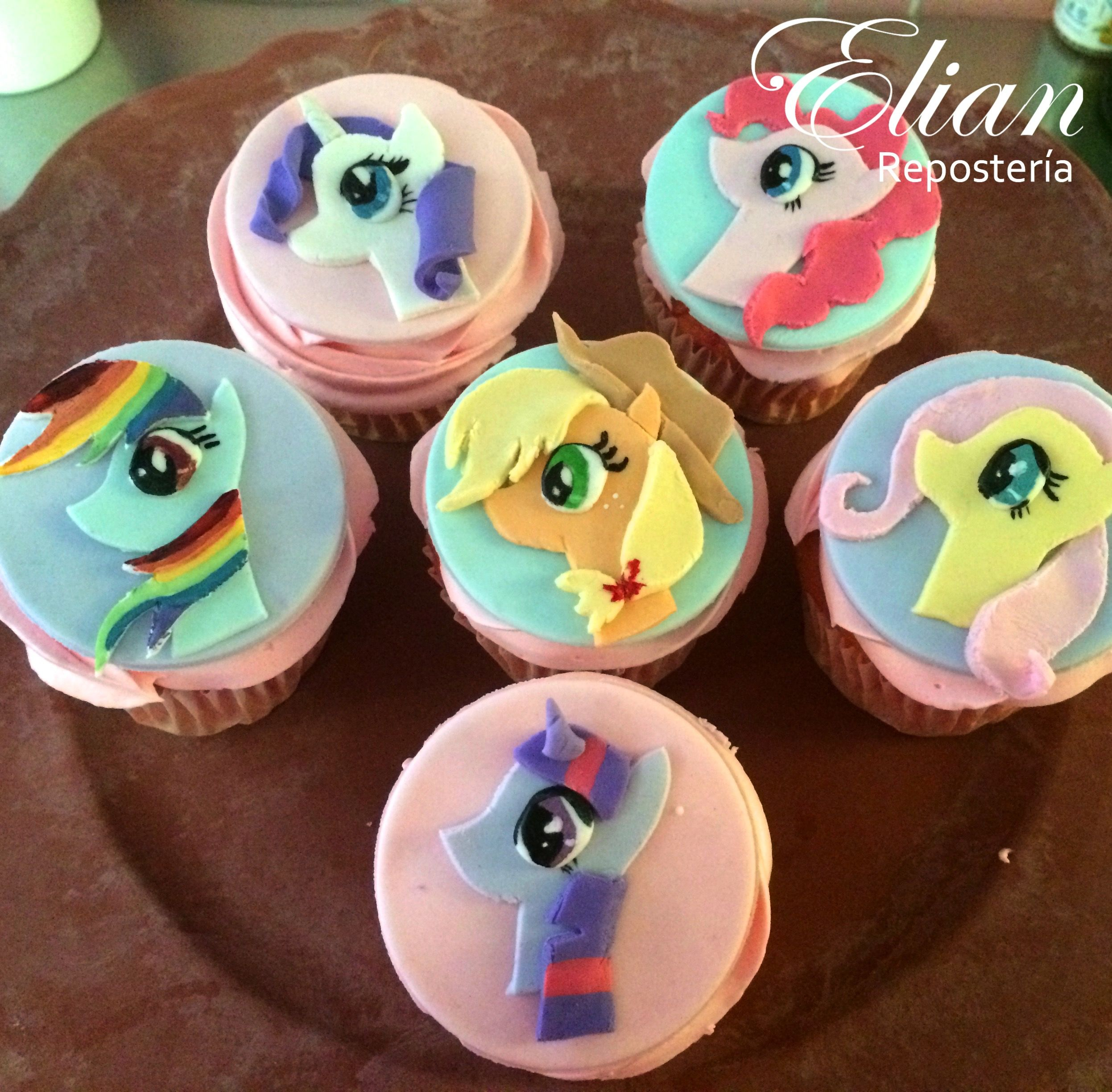 My Little Pony Cupcakes Mi Pequeno Pony Cupcakes