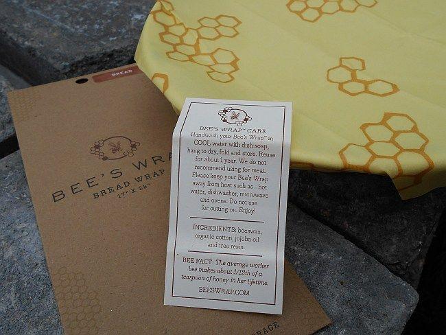 Bee's Wrap korvaa muovin keittiössäsi