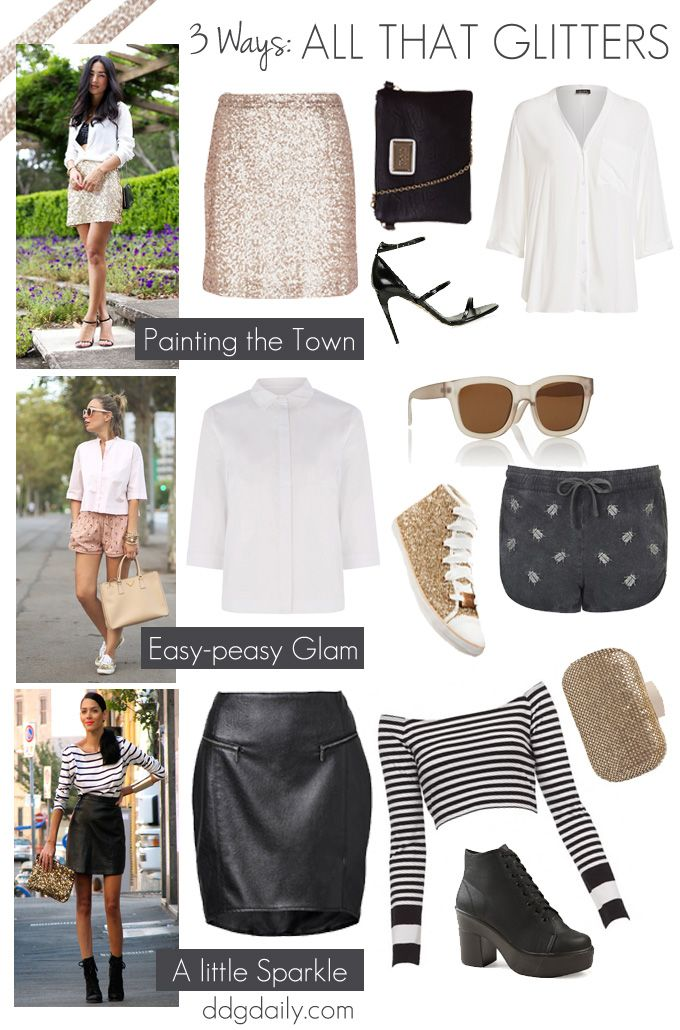 All that glitters: 3 ways to add some sparkle to your wardrobe