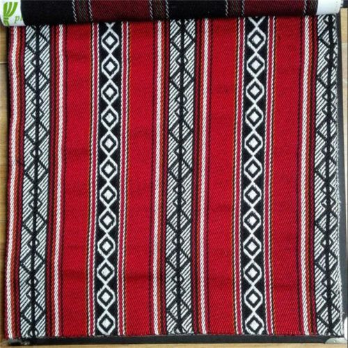 Traditional Arabic Tents With Sadu Weaving Fabric Majlis