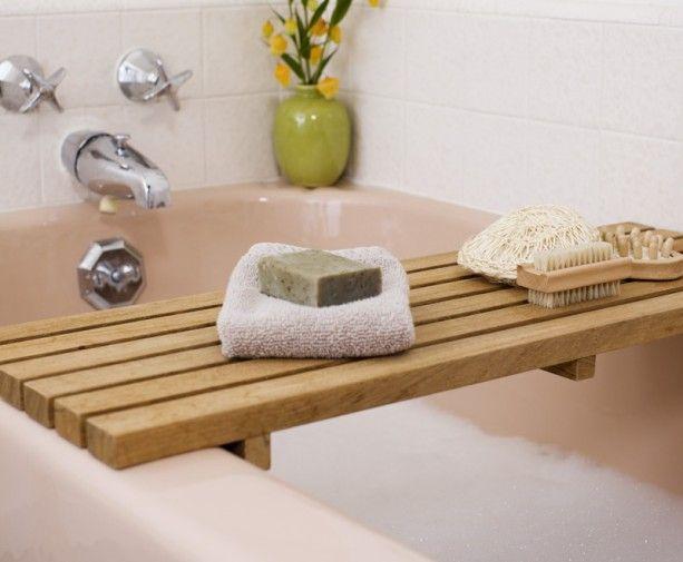 Weekend DIYs. Diy BathtubBathtub TrayWood BathtubBathtub CaddyJacuzzi ...