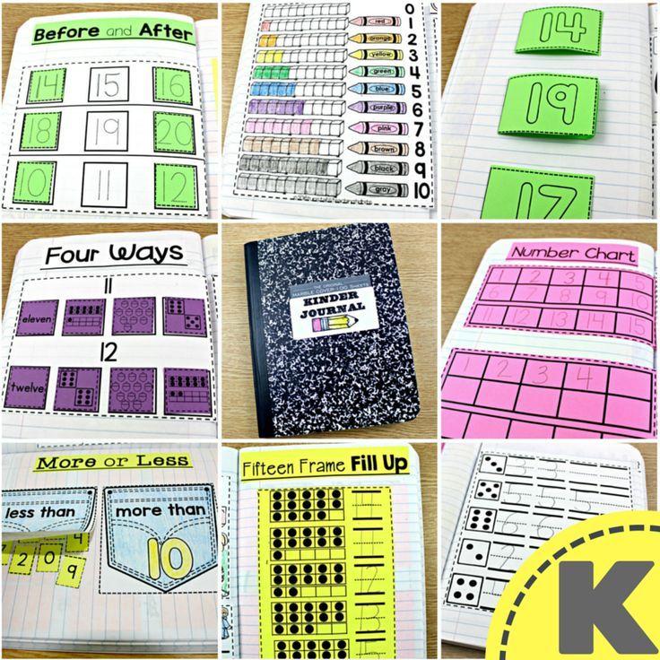 Math Journal K, 1, and 2 | Math journals, Math and Teaching ideas