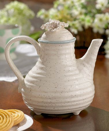 This Potters Wheel Teapot Is Perfect! #zulilyfinds