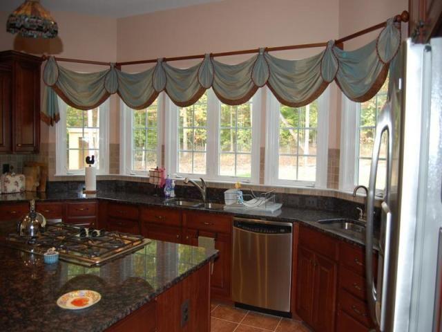 Pin de creaciones arte hogar en cocinas cortinas para cocina cortinas y ventanas de cocina - Cortinas cocinas modernas ...