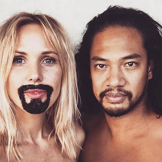 When your frank facial hair is better than your husband's. #thefrankeffect