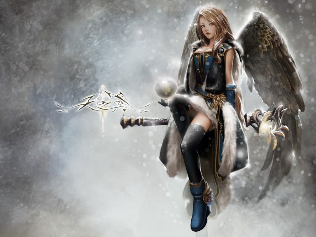 Warrior angels pictures | Angel warrior tattoo design by ...