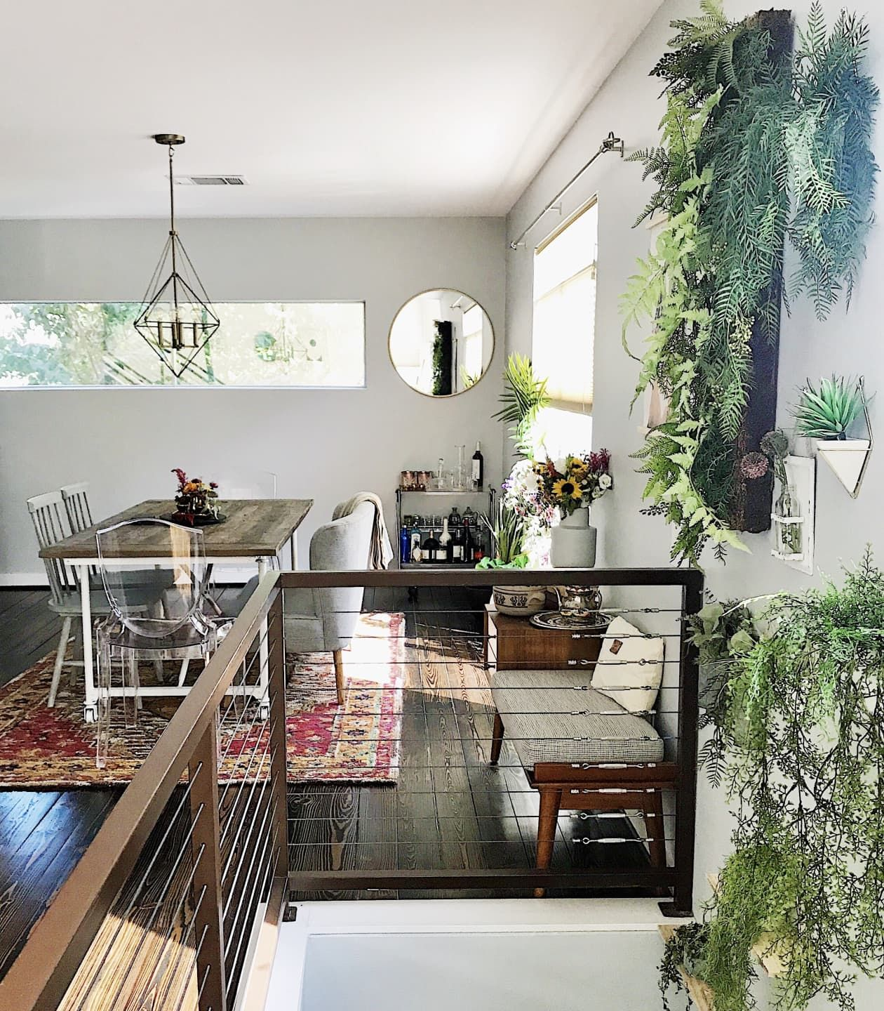 A Bright Pretty Minneapolis Loft House Call Apartment Therapy Main One Bedroom Apartment Home One Bedroom