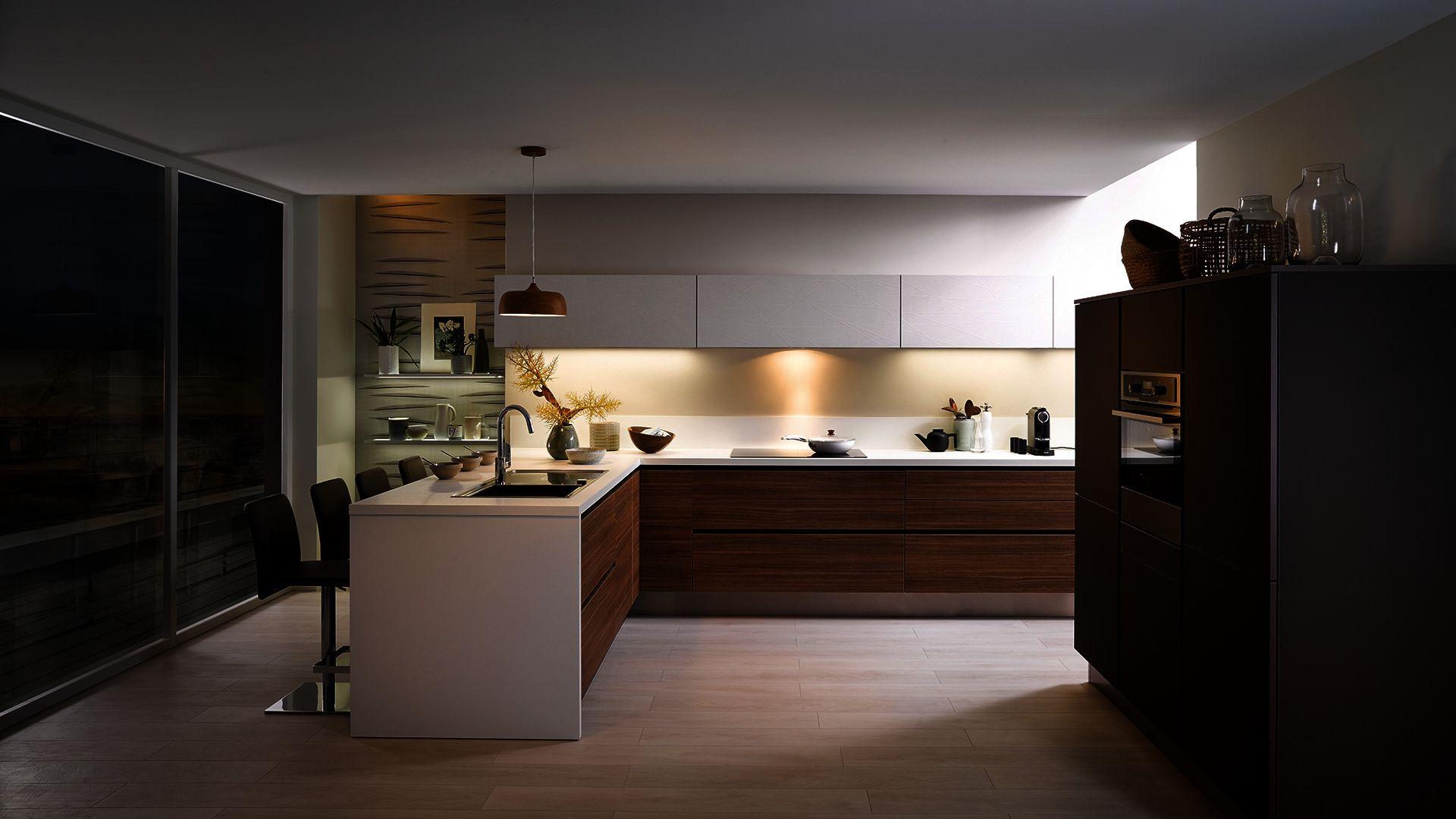 Cuisine Equipee E Label Style Design Bois Cuisinella Cuisine Cuisinella Cuisinella Cuisine Moderne