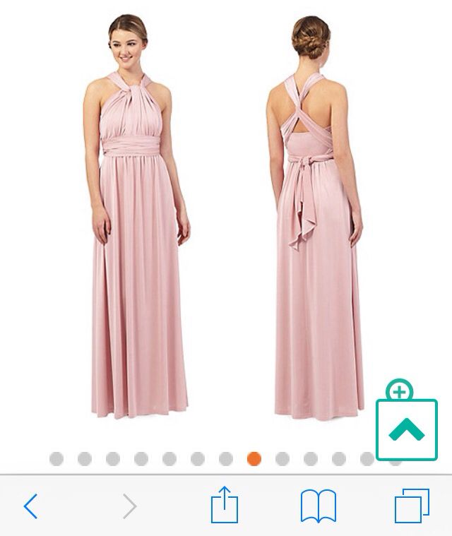Dusky pink bridesmaid dress - debenhams | Wedding Canada ...