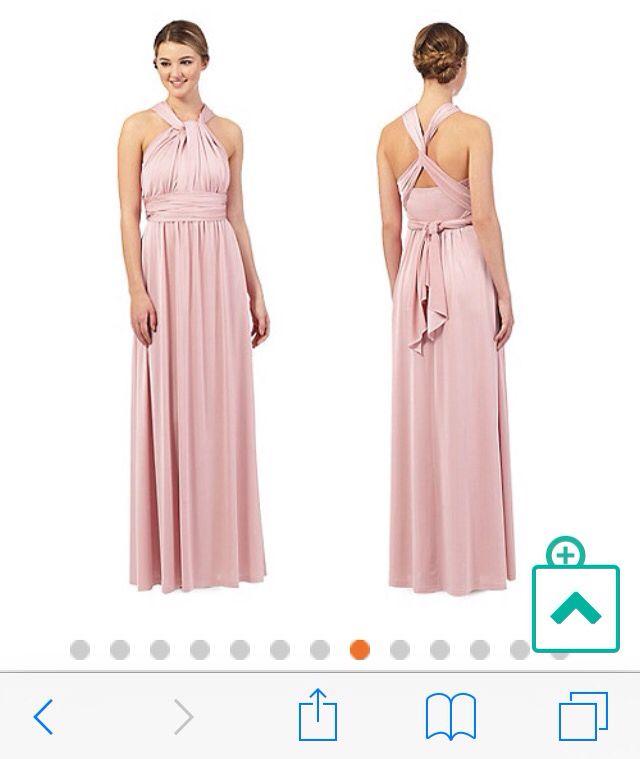 Dusky pink bridesmaid dress - debenhams | Wedding Canada ...