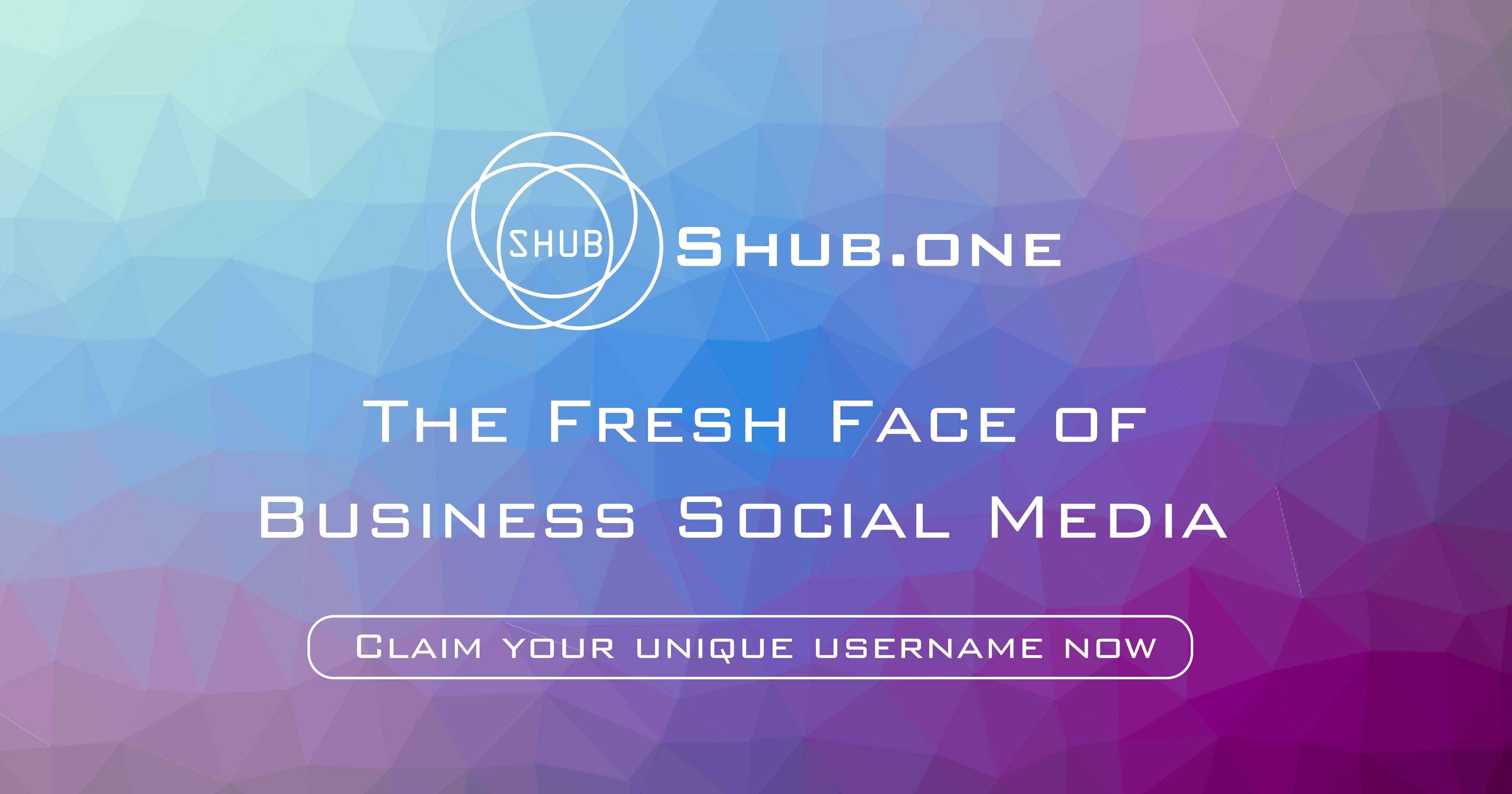 Claim your Unique Shub.one Username & create your Free