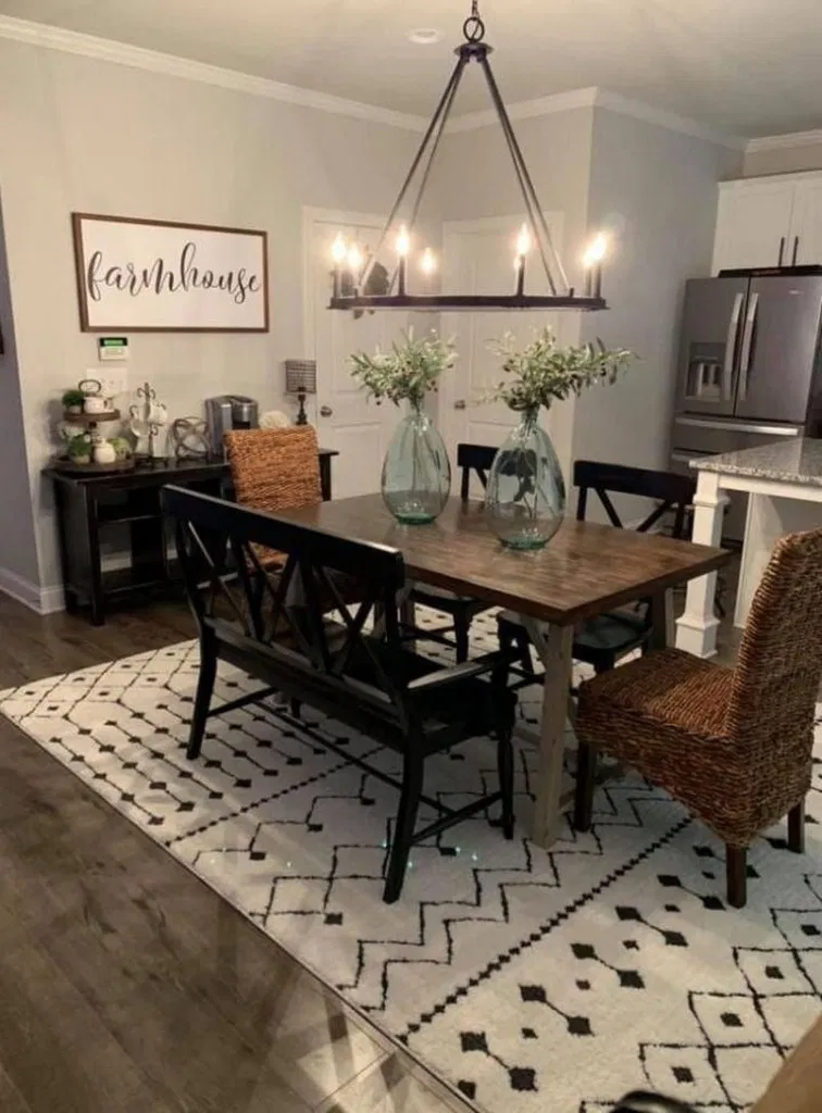 49 Fabulous Diy Projects Furniture Tables Dining Rooms Design Ideas 29 Blogger Creati Beautiful Dining Room Decor Beautiful Dining Rooms Rustic Dining Room