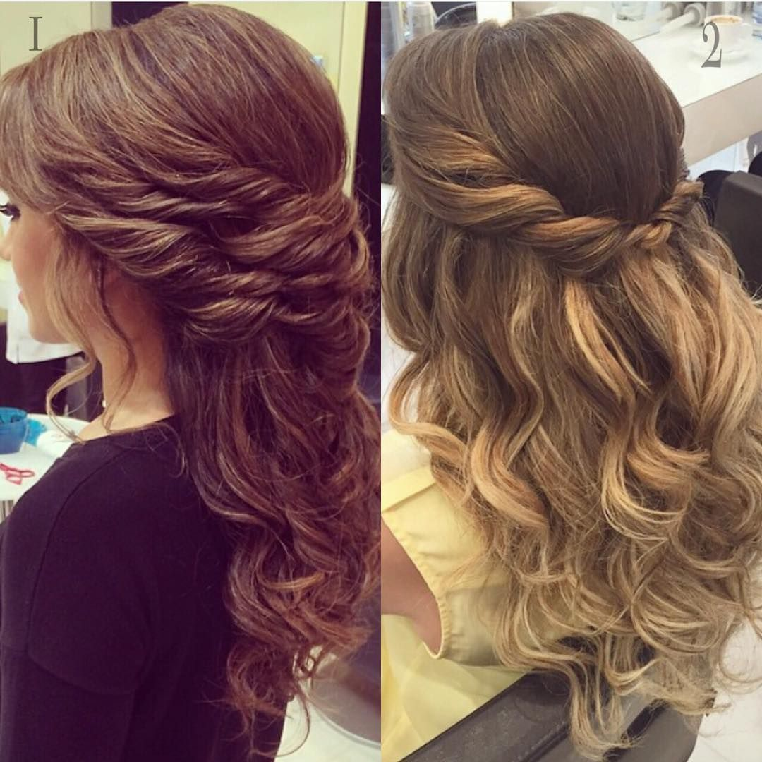 Day 2 Of Eid Twisted Back Hairstyle! #choose Between 1 And