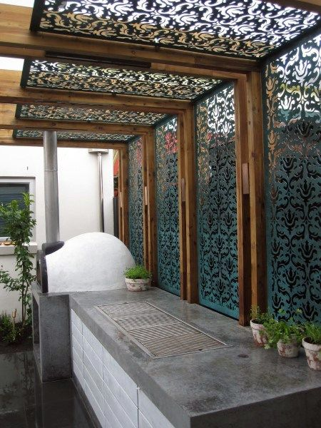 Top 60 Best Pergola Ideas - Backyard Splendor In The Shade #outdoorrooms