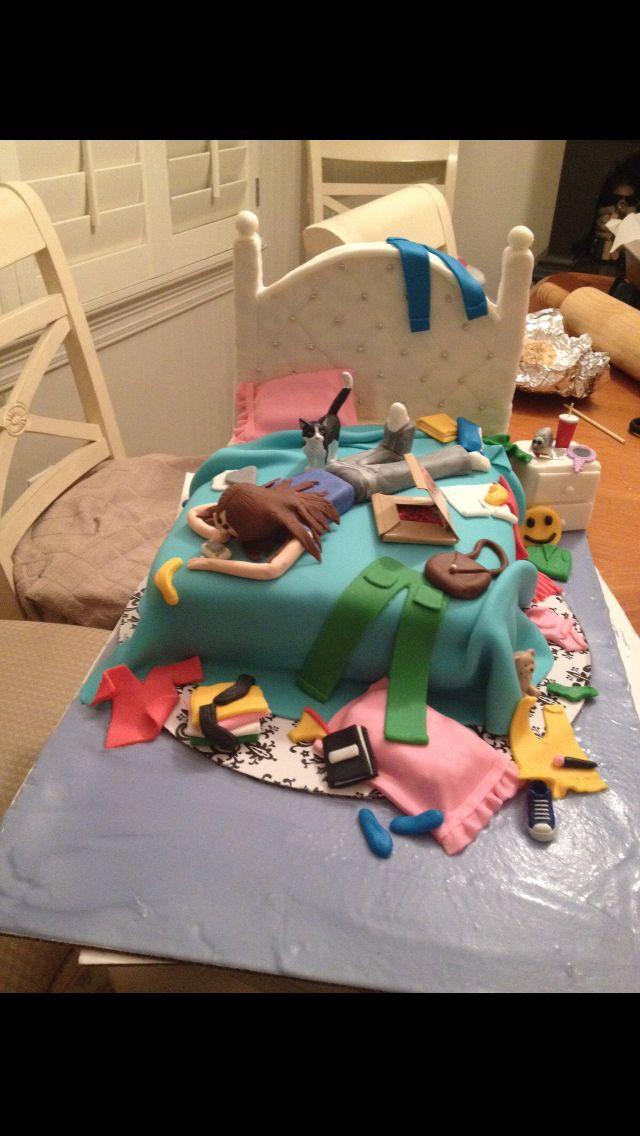 cute cake for ur teen fairer cakes kuchen f r teenager torten geburtstagskuchen