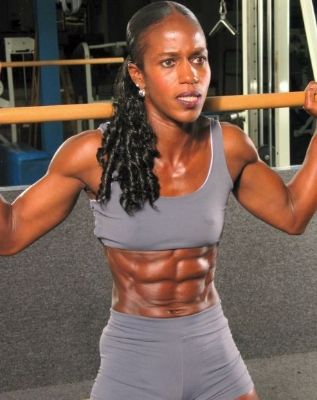 Elisa Moore Black Girl Fitness Fit Black Women Muscular Women