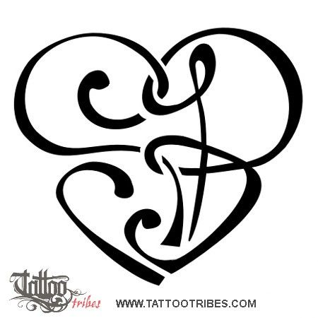Sb heart staphanie requested this heartigram shaped by the union of tattoo tribes tattoo of sb heart union tattoosb sb heart heartigram tattoo royaty free tribal tattoos with meaning thecheapjerseys Gallery