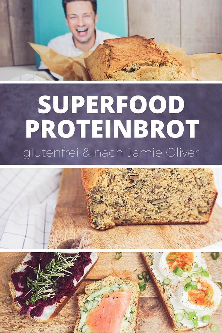 superfood proteinbrot nach jamie oliver weizenfrei glutenfrei und lecker receta bread. Black Bedroom Furniture Sets. Home Design Ideas