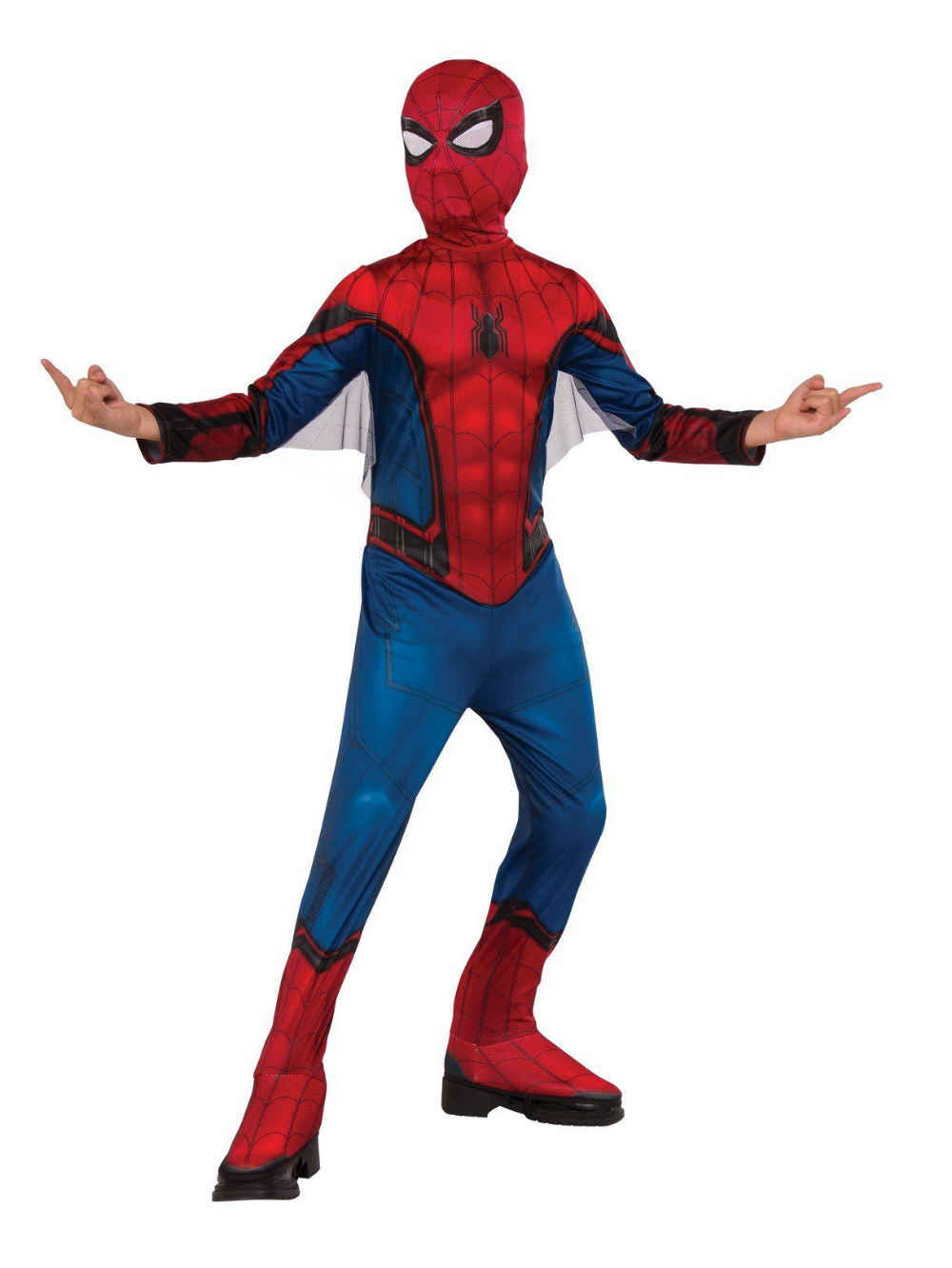 Boys Spider Man Far From Home Spider Man Red Blu Costume Partybell Com Spiderman Costume Childrens Halloween Costumes Boy Costumes