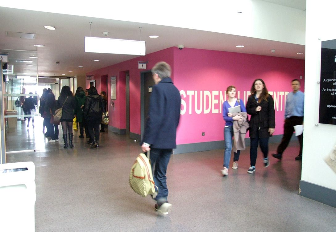 Entrance to the Student Life centre: http://www.kingston.ac.uk/virtual-tour/penrhyn-road/?utm_source=Pinterest_medium=Social_campaign=KUPinterest_content=PenrhynRdTour