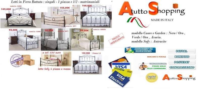 Letti in ferro battuto a Pomezia - Kijiji: Annunci di eBay ...