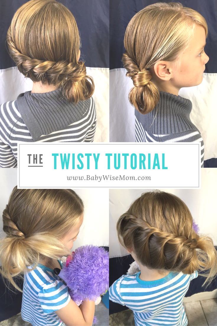 Twisty hairdo girl hairstyles