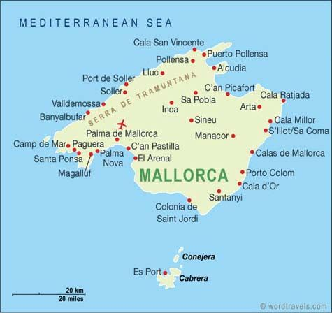 Map Of Spain Majorca.Palma Places I Have Been Ibiza Travel Mallorca Island Palma